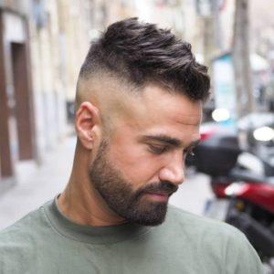corte-desvanecido-alto-barba-high-fade-beard